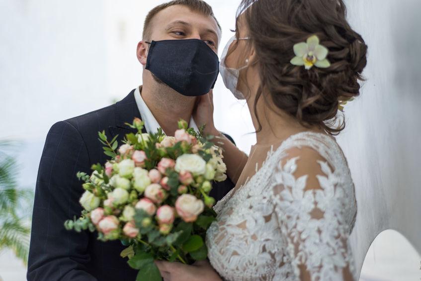 svatba koronavirus