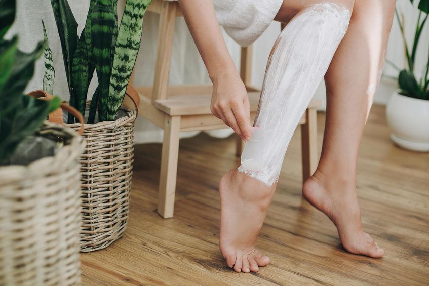 nohy holeni