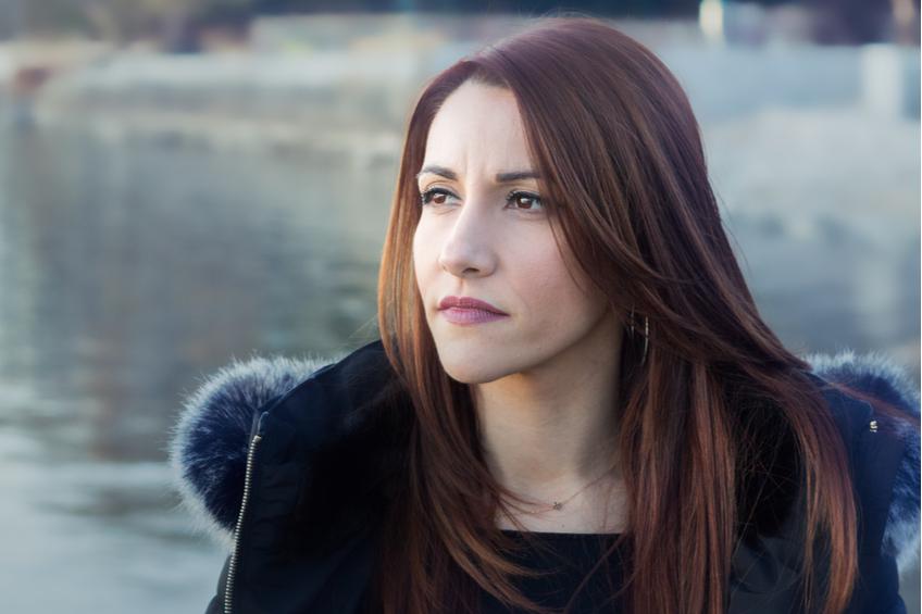 zena bruneta