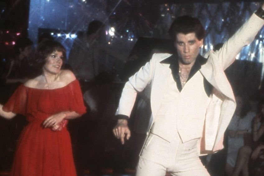 john travolta a karel lynn gorney horečka sobotní noci