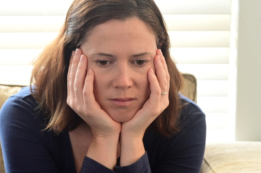 smutná žena 10