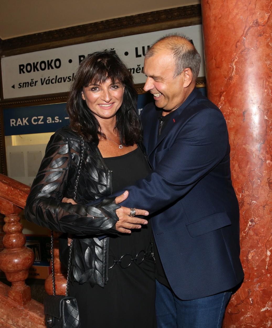 Petr Rychlý s manželkou