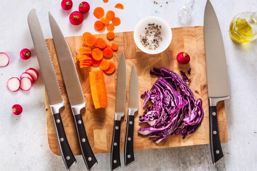 nůž kuchyň