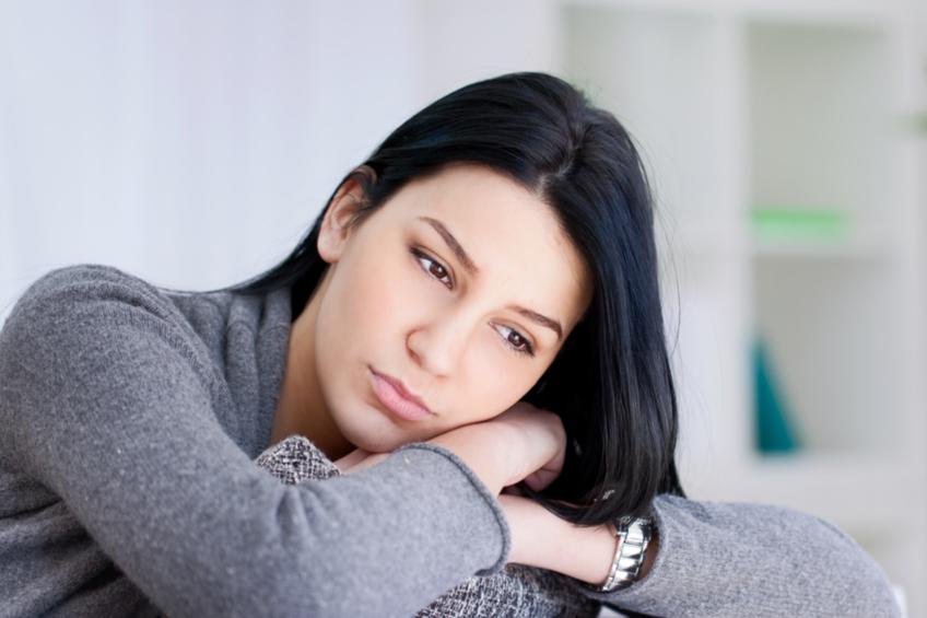 zena depresivni