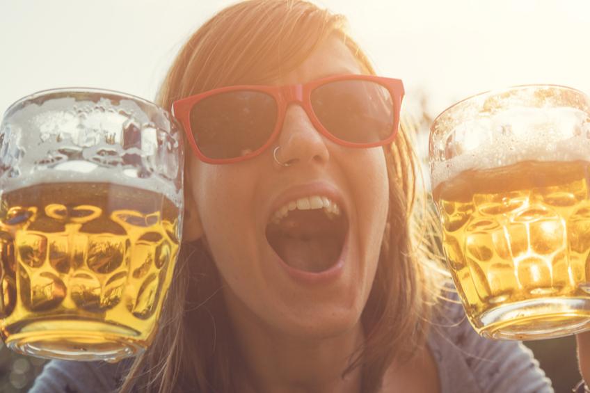 zena pivo