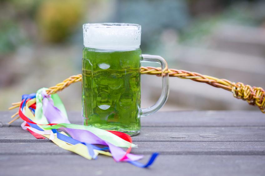 zelene pivo velikonoce