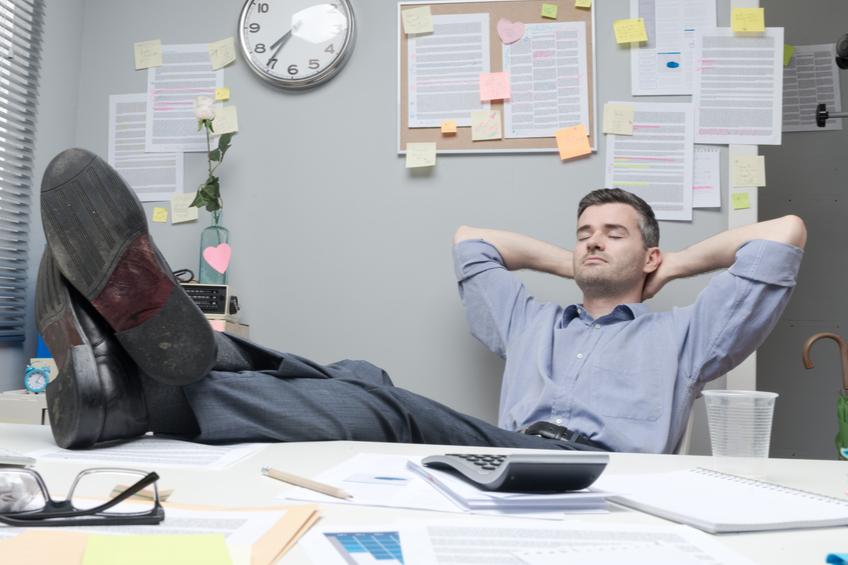 Lenost v praci