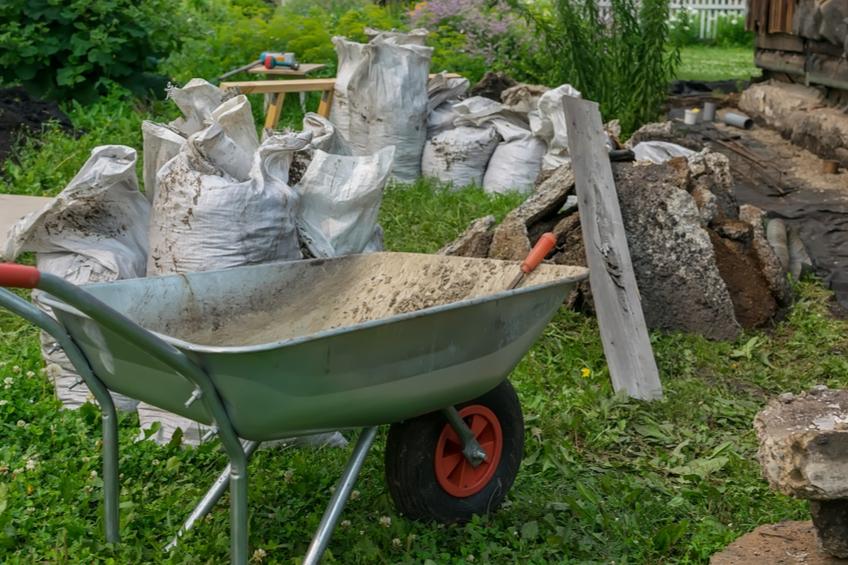 Prace na zahrade