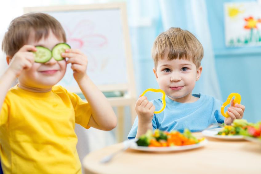 Deti jedi zdrave