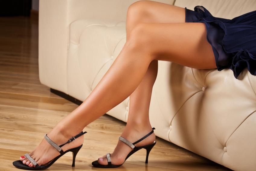 Boty na podpatku